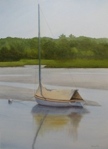 Low Tide Reflection    29x20""