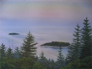 Schoodic Morning  21x29""