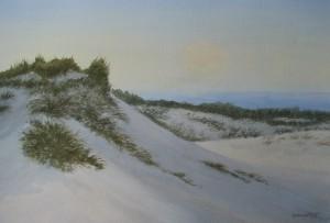 """Sunrise Dunes 13x21"""""""